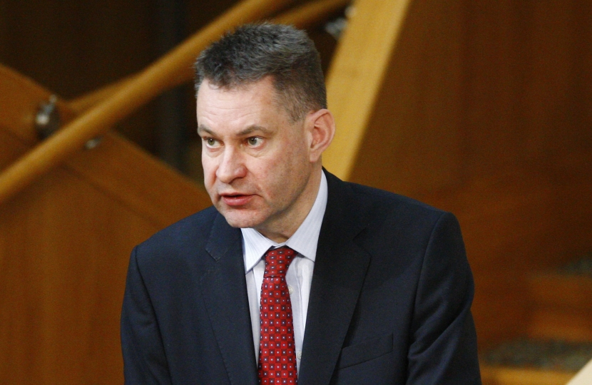Murdo Fraser at the Scottish Parliament