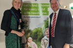 Murdo supports the Home for Good campaign