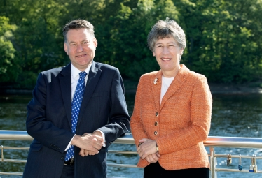 MSPs Murdo Fraser and Liz Smith